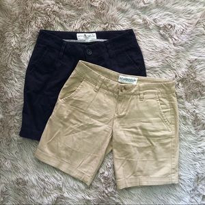 Aeropostale | stretch shorts bundle